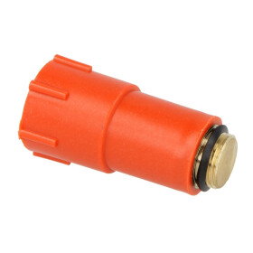 """Protection plug 1/2"""" with brass thread"""