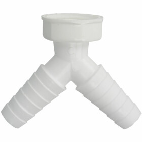 """Connection sleeve, 2 x 1"""" for sink siphons"""