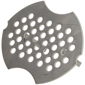 Universal urinal strainer stainless steel
