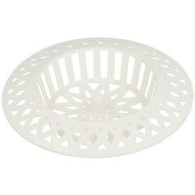 Plastic drain sieve white Ø 60 mm