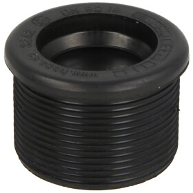 Rubber nipple for siphon pipes 44 x 32 mm