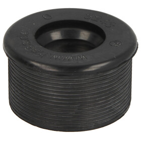 Rubber nipple for siphon pipes 57 x 32 mm