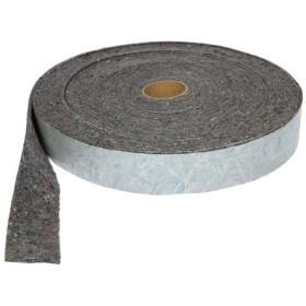 Felt insulation strips 70 mm x 2 mm x 3,6 m