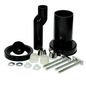 connection kit for wall-hung WCs offset