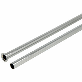 Copper pipe 300 mm x Ø 12 mm, chrome-plated,...