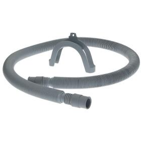 Plastic hose for washing machines 60-200 cm, grey