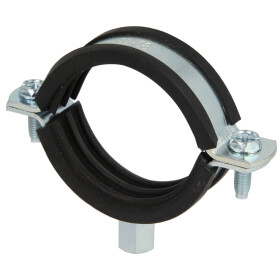 Pipe clamps, zinc-coated M 8 x 50-55 mm