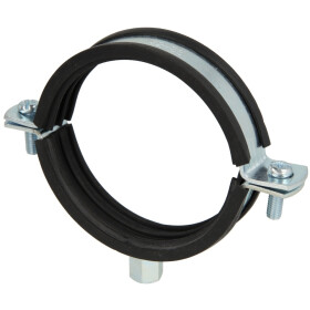Pipe clamps, zinc-coated M 8/10 x 82-85 mm