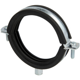 """Pipe clamps, zinc-coated M 8/10 x 83-91 mm (3"""")"""