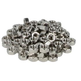 Hexagon nut M5 (PU 100 pcs.) DIN 934, class 8, stainless...