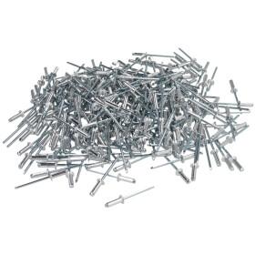 Blind rivet aluminium/steel 4 x 6 standard pan head (PU 500)