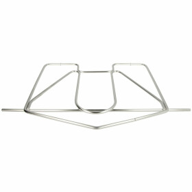 Support grid, stainless steel chrome