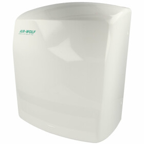 Air-Wolf hot air hand dryer, white C 72 with sensor