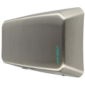 Air-Wolf hot air hand dryer B 31 with sensor,brushed...