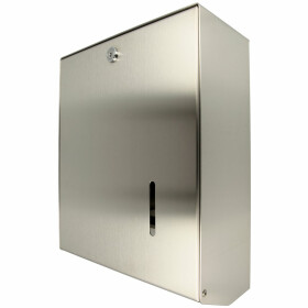 Air-Wolf paper towel dispenser Omikron II, stainless...