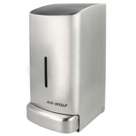 Air-Wolf liquid soap dispenser Gamma II stainless steel,...