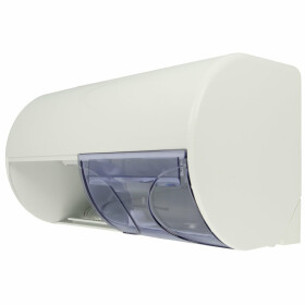Air-wolf WC-paper dispenser ABs white for two rolls