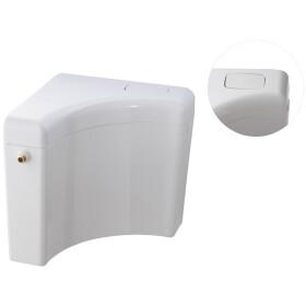 Sanit corner cistern 927 alpine white