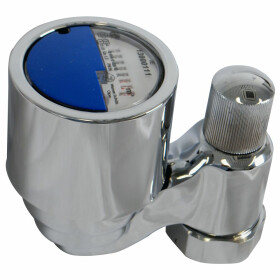 Valve meter fittings + calibration fee 2.5 m³ for...