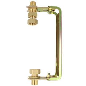 Water meter bracket - vertical, galvan. adjustable, Qn...