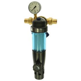 Syr Backflushing filter Duo DFR pressure reducer DN20...