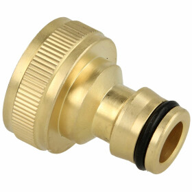 """Tap adapter 3/4"""" IT with plug-in coupling, brass"""