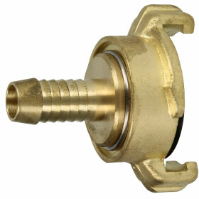 """Brass quick coupling for hoses 1/2"""", 360° rotatable"""