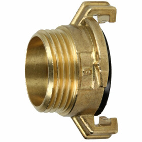 "Brass - quick threaded coupling 3/8"" ET"