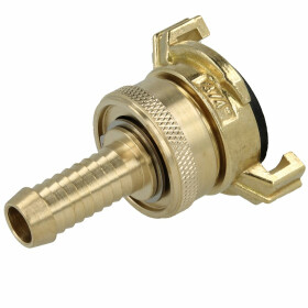 Suction/high-pressure quick-coupling with locking ring...