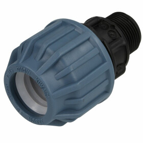 """PE - clamping screw connection 20 mm x 1/2"""" ET"""