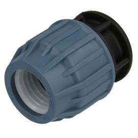 "PE - clamping - end cap 1/2"" (20 mm)"