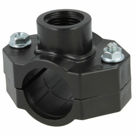 """PE tapping clamp with IT 25 mm x 1/2"""" IT"""