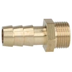 """Brass hose nozzle 3/8"""" ET x 1/2"""" nozzle"""