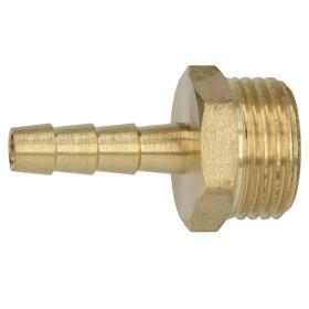 """Brass hose nozzle 1/2"""" ET x 1/4"""" nozzle"""
