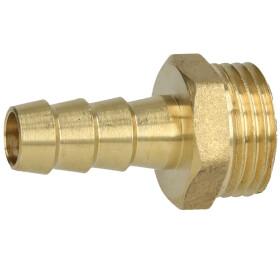 """Brass hose nozzle 1/2"""" ET x 3/8"""" nozzle"""