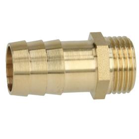 """Brass hose nozzle 1/2"""" ET x 3/4"""" nozzle"""