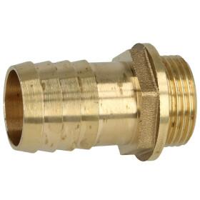 """Brass hose nozzle 3/4"""" ET x 1"""" nozzle"""