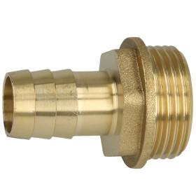 """Brass hose nozzle 1"""" ET x 3/4"""" nozzle"""