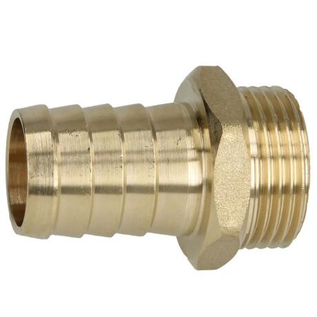 """Brass hose nozzle 1"""" ET x 1"""" nozzle"""