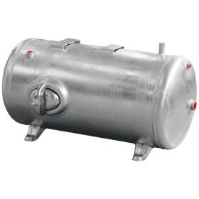 Pressurized water tank 60 l, 6 bar galvanised, horizontal...