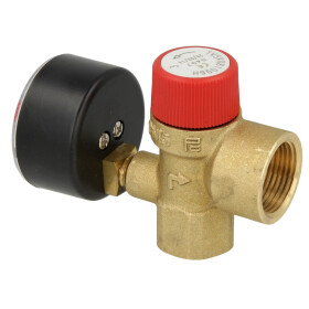 Elco Safety valve with manometer 4478344025