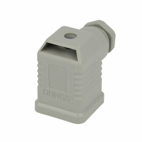 Dungs Block plug, grey without cable 210317