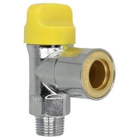 "Laboratory gas socket 1/2"" chromium-plat with..."