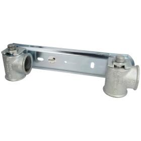 Gas meter plate f. double-pipe gas meter 1 1/2, galvanised