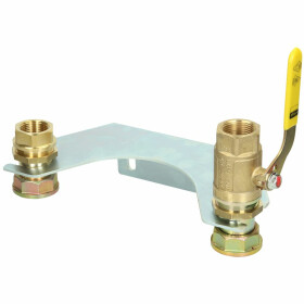 """Mounting unit for double-pipe gas meter 1"""" ET, with..."""