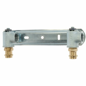 """Gas meter plate for double-pipe gas meter, 1"""" x 28..."""
