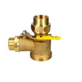 "Viega Gas meter angle ball valve 1 1/2"""