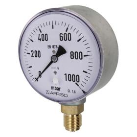Kapselfedermanometer Gas 0 - 40 mbar