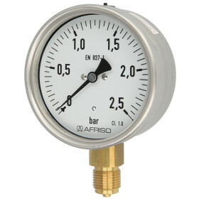 Rohrfedermanometer RM 0-2,5 bar