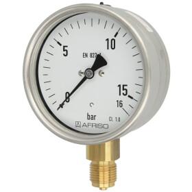 Rohrfedermanometer RM 0-16 bar